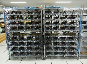 a photo of PC cluster